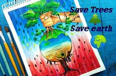 Art Articles- Detail information about Earth Day which is celebrated world wide, lets know more about earth day, posters, theme of earth day Earth Day Facts, Earth Day Quotes, Earth Day Posters, Earth Poster, First Earth Day, World Earth Day, Cool Posters, Quote Posters, Save Tree Save Earth