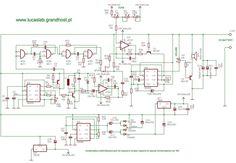 Metal Detector Surf PI 1.2 Schematic Diagram | Detector de ...