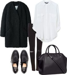 Image about girl in Moda, outfits, fashion👕👖👚👗 by Aydee Mode Outfits, Casual Outfits, Fashion Outfits, Womens Fashion, Fashion Trends, Fashion Flatlay, Fashion Capsule, Fashion Sale, Paris Fashion