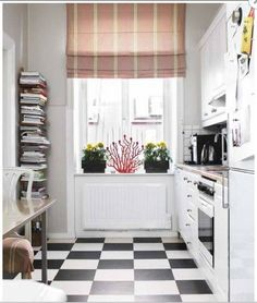 Books in the Kitchen | Apartment Therapy