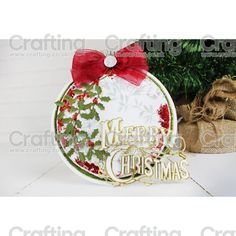 Essentials by Tattered Lace - Vintage Merry Christmas Christmas Ideas, Christmas Crafts, Merry Christmas, Christmas Ornaments, Tattered Lace Cards, Xmas Cards, Hobbies And Crafts, Vintage Cards, Card Ideas