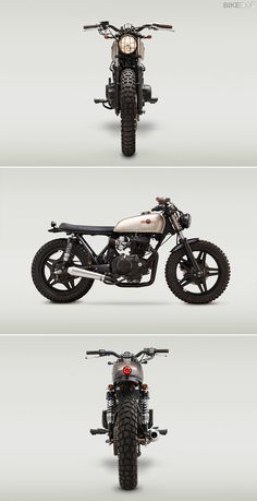 Honda CB400T by Classified Moto