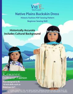 Flossie Potter Turn of the Century Skirt Doll Clothes Pattern 18 inch American Girl Dolls Girl Doll Clothes, Doll Clothes Patterns, Pdf Sewing Patterns, Doll Patterns, Clothing Patterns, Girl Dolls, Ag Dolls, Native American Dress, Journey Girls