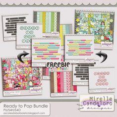Ready to Pop Bundle by Mirelle Candeloro - PU/S4H/S4O ok $2.00*