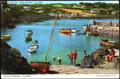 Coverack Harbour - Cornwall