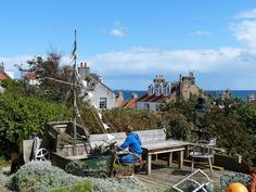 Best view in Pittenweem from Calman's Wynd