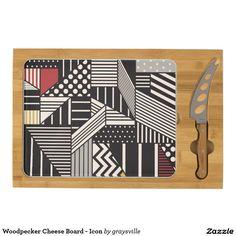 Woodpecker Cheese Board - Icon