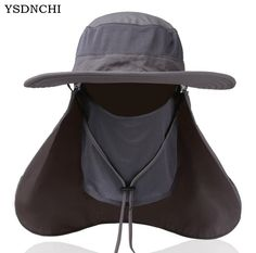 Hot Sell Sun Hats Mens Large Round Brim Unisex Block Quick Drying Fishing  Hat Summer Cap For Travel Womens Casual Bucket Hats-in Sun Hats from Men s  ... 085da829acad