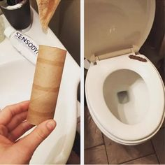 Here's another gross one — if you rip up a toilet paper roll, wet it, and then mash it together, it looks exactly like, well... 17 Harmless April Fools' Pranks For Kids That Are Easy To Pull Off