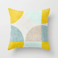 Bright Night Graphic  Throw Pillow by Correen Silke...