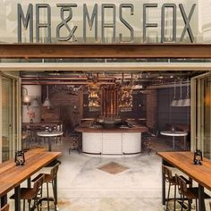 Mr & Mrs Fox, Hong Kong - Our lights feature strongly in this super slick new restaurant design, one of the most talked about recent openings in Hong Kong.  Nice to see our Communist Scissor wall lights in a new setting, a long and unlikely journey from the Romanian army...