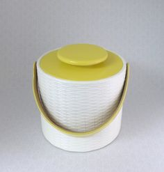 Rare Ice Bucket Mid Century Elmar Mfg by RaindropVintageShop