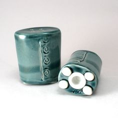 Ceramic+Salt+&+Pepper+Shakers+by+cherylwolff+on+Etsy,+$45.00