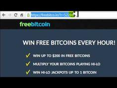 Gana BitCoin FAUCET: Como Registrase en FreeBitCoin