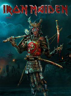 Iron Maiden Posters, Superhero Workout, Grim Reaper Art, Iron Maiden Band, Where Eagles Dare, Nu Metal, Rock Legends, Weird Art, Rock Art