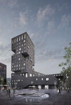 A Tall Building In Carlsberg - Kushtrim Regjepaj