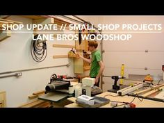 Shop Update // Small Shop Projects