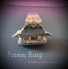 POISON RIN ONLINE CLASS Student Work, Rings For Men, How To Make, Jewelry, Men Rings, Jewels, Schmuck, Jewerly, Jewelery