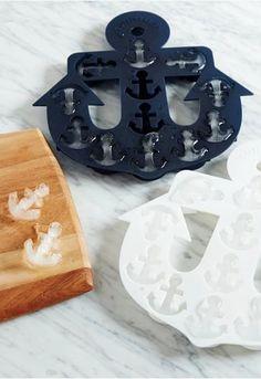 fun anchor ice cube tray