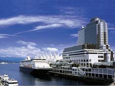 The Cruise Ship Terminal and the Pan Pacific Hotel, Vancouver. Vancouver is a wonderful, walkable city Vancouver British Columbia, North Vancouver, Vancouver Island, Vancouver Skyline, Alaska Travel, Canada Travel, Travel Log, Hotels And Resorts, Best Hotels