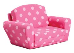Kidz World Oxygen Pink Sofa Sleeper - Forget those old foam flip-chairs you find in department stores. The Kidz World Oxygen Pink Sofa Sleeper is a real, quality piece of furniture with a .