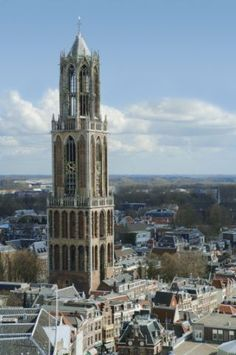 Domtoren in Utrecht en de architect is Cornelis de Wael