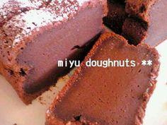 簡単*超濃厚チョコケーキの画像