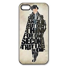 Sherlock+Pattern+Plastic+Hard+Case+for+iPhone+5/5S.+Shopswell+|+Shopping+smarter+together.™