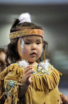 Cute American Indian girl