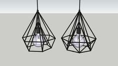 Pendente Diamond - 3D Warehouse