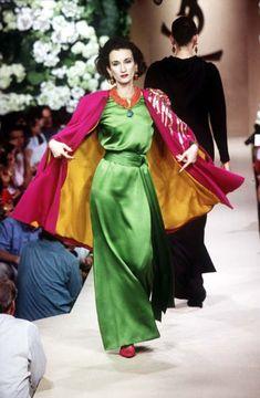 Violetta Sanchez for Yves Saint Laurent Haute Couture F/W 1995