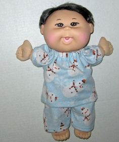 Cabbage Patch Babie Doll Clothes 13  14  inch by Dakocreations