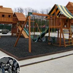 Rubber Mulch for Playgrounds and Landscaping - RubberMulch.com