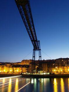 Picture of Puente Colgante Bridge, Portugalete, Spain   PlanetWare