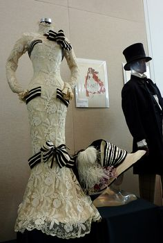 Audrey Hepburn My Fair Lady Ascot dress and hat, sketch & Rex Harrison suit from Dr. Doolittle by VPostrel, via Flickr