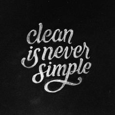 Clean Is Never Simple -From@dandrawnwords . . #pixelsurplus #typography #type #dailytype #thedailytype #typelove #typedesign #graphicdesigns #graphicdesigners #typeeverything #inspiration #handlettering #handdrawn #inspirational #designer #design #quote #quotes #quoteoftheday #typespire #typegang #goodtype #illustration #fb #designers #graphicdesign
