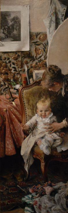 Little Suzanne -  Carl Larsson