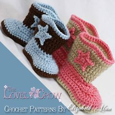 Baby Cowboy Crochet Patterns Includes patterns by TheLovelyCrow