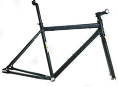 """Product review for EVO Slay Lrg 56cm Single Speed Fixie Fixed Gear 700c Road Track Bike Frame NEW - EVO BIKES """"SLAY"""" SINGLE SPEED URBAN BIKE FRAME NEW / MSRP $179.99 / SHIPS IN 24HRS The Slay satisfies your need for urban adventure fun. SPECIFICATIONS: Brand: Evo Model: Slay Color: Hammered finished black Weight: 3790 grams (of everything – size 54cm) Condition: New, take off..."""
