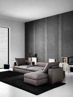SABA ITALIA sofa ANANTA Dedicated to deliver superior interior acoustic experince.  www.bedreakustik.dk/home