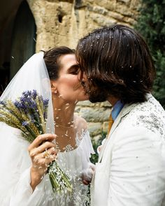 Charlotte Casiraghi, Wedding Groom, Wedding Couples, Wedding Attire, Wedding Ceremony, Wedding Rustic, Wedding Dresses, Wedding Bells, Royal Brides