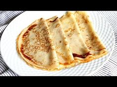 How to make thin and tender homemade crepes Goan Recipes, Cooking Recipes, Crepes Minces, Homemade Crepes, Breakfast Recipes, Dessert Recipes, Peruvian Recipes, Hungarian Recipes, Sweet Pie
