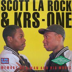 Scott La Rock & KRS-One - Memory Of A Man And His Music Vinyl