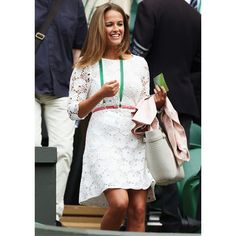 Kim Sears at Wimbledon 2014, plus find more summer style inspiration at Redonline.co.uk
