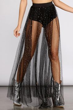 All The Glitz And Glimmer Maxi Skirt – Windsor Rave Outfits, Edgy Outfits, Cute Casual Outfits, Fashion Outfits, Vegas Outfits, Woman Outfits, Party Outfits, Club Outfits, Sheer Dress