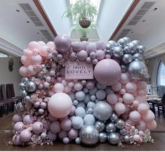 Isn't she LOVELY?💗💜 Our balloon babe of a media wall was born to do it at the UK launch night of the new fragrance 💖🌸💁🏻‍♀️📸 Girl Baby Shower Decorations, Balloon Decorations Party, Birthday Party Decorations, Birthday Parties, Balloon Backdrop, Balloon Wall, Balloon Garland, Air Balloon, Baby Shower Balloons