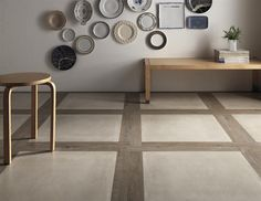 tile wood combination - Google Search