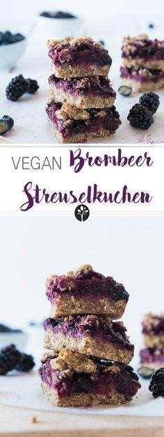 #Brombeer Streuselkuchen #vegan auf eat-vegan.de