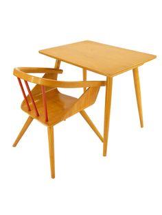 Bureau et fauteuil années 60