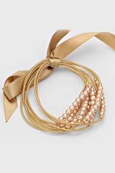 Abby Bracelet in Champagne on Emma Stine Limited